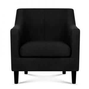 helen2 300x300 - Helen Armchair - Black
