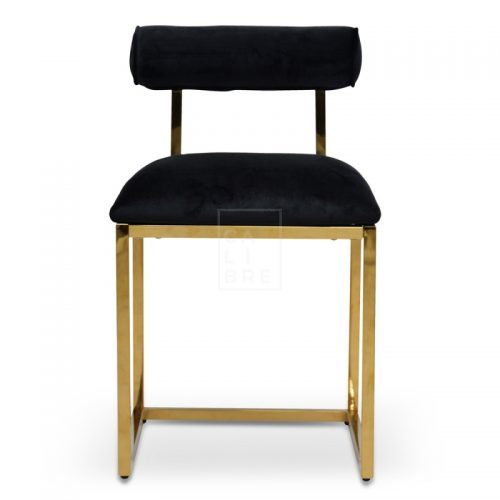jan 1 500x500 - Janelle Dining Chair - Black Velvet