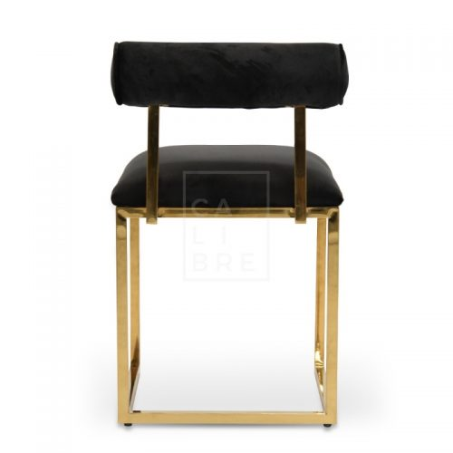 jan3 500x500 - Janelle Dining Chair - Black Velvet