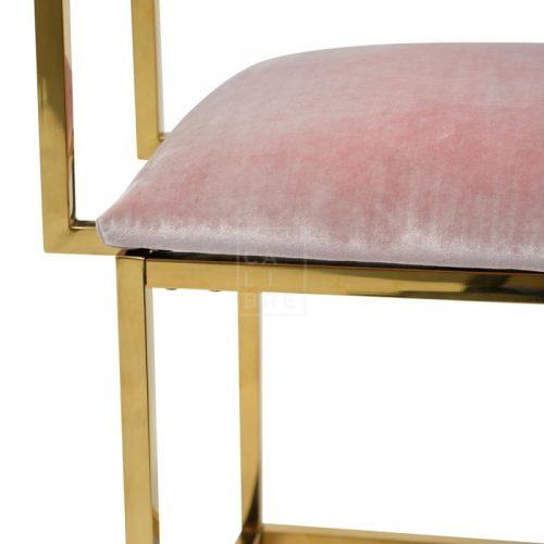 janz8 500x500 - Janelle Dining Chair - Pink Velvet