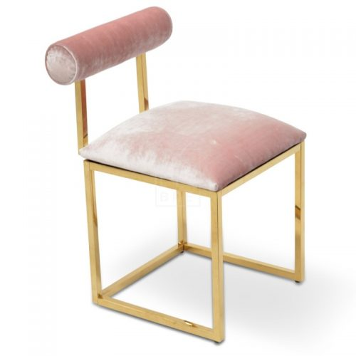 janz9 500x500 - Janelle Dining Chair - Pink Velvet
