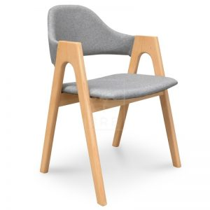 jay2 300x300 - Jay Dining Chair - Light Grey