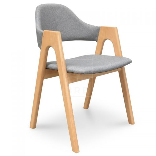 jay2 500x500 - Jay Dining Chair - Light Grey
