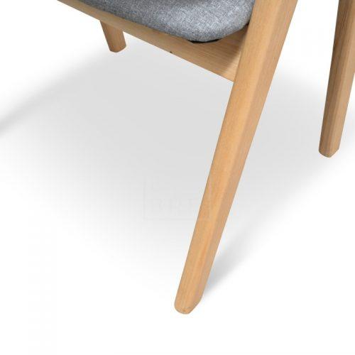 jay3 500x500 - Jay Dining Chair - Light Grey
