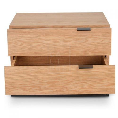 mark1 500x500 - Mark Bedside Table - Natural Oak