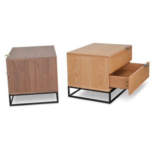 mark2 500x500 - Mark Bedside Table - Natural Oak