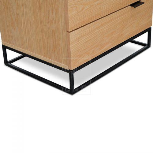 mark3 500x500 - Mark Bedside Table - Natural Oak
