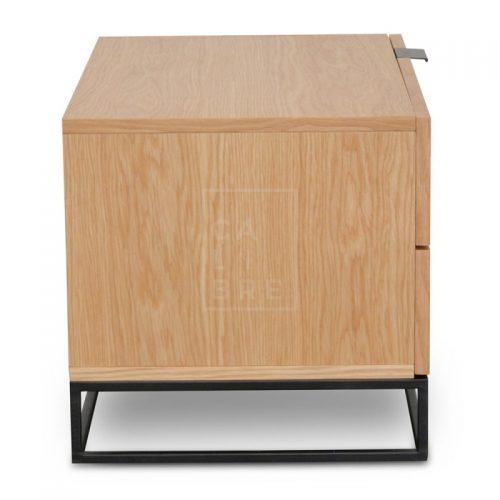 mark4 500x500 - Mark Bedside Table - Natural Oak