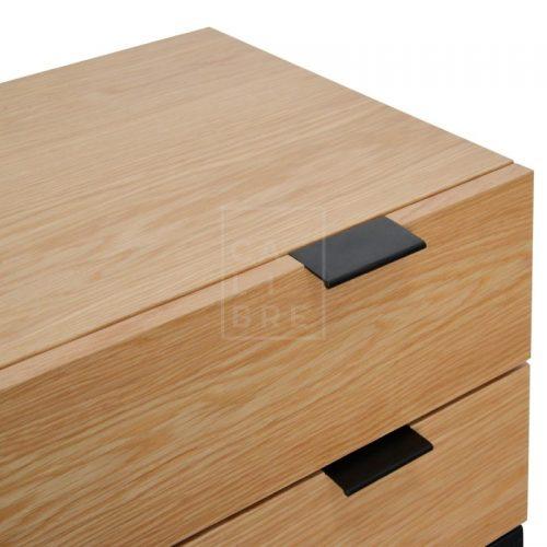 mark5 500x500 - Mark Bedside Table - Natural Oak