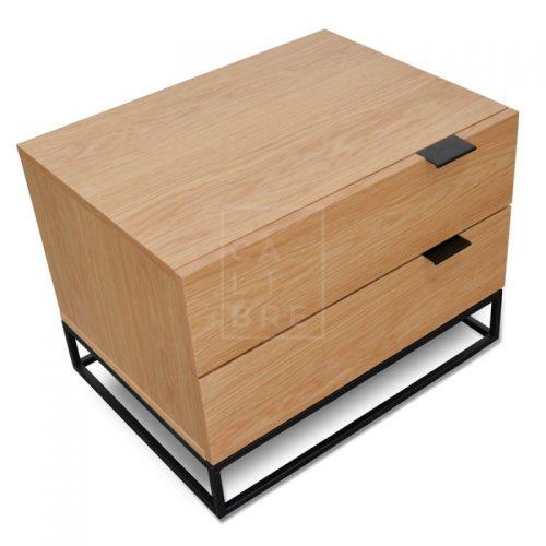 mark6 500x500 - Mark Bedside Table - Natural Oak