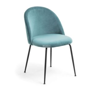 myst10 300x300 - Mystere Dining Chair - Teal Velvet/Black