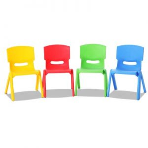 tahsha 300x300 - Tahsha Set of 4 Stackable Chairs - Multi Coloured