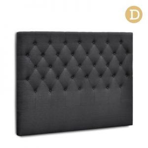 BFRAME E HEAD D CHAR 00 300x300 - Arthur Upholstered Headboard Charcoal-Double