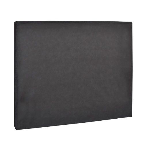 BFRAME E HEAD Q CHAR 04 500x500 - Arthur Upholstered Headboard Charcoal-Double