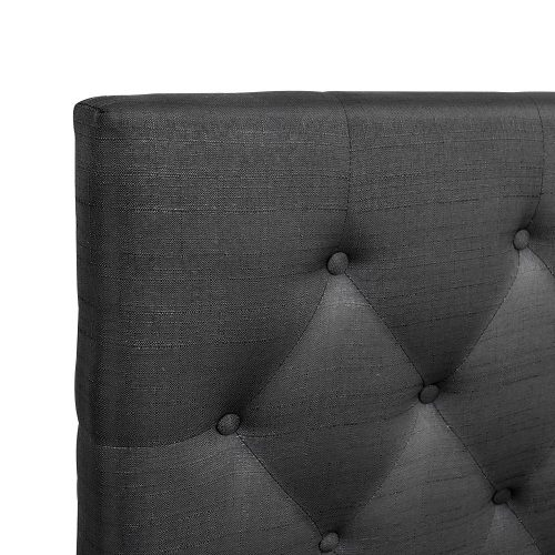 BFRAME E HEAD Q CHAR 05 500x500 - Arthur Upholstered Headboard Charcoal-Double