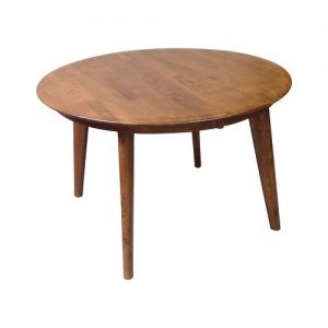 Belmont Round Ext Table Teak Closed 1024x1024 300x300 - Belmont 1050 Extension Dining Table - Teak