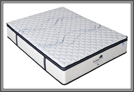 Cloud system - Queen Cloud System Back Support Medium Mattress