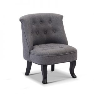 FA CHAIR KID02 GY 00 300x300 - Lina Upholstered Kids Chair - Grey