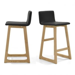 Mandy Bar Stool Solid Timber Hardwood Upholstered Seat with Back Modern Scandinavian Design 1024x1024 300x300 - Mandy Bar Stool - Black