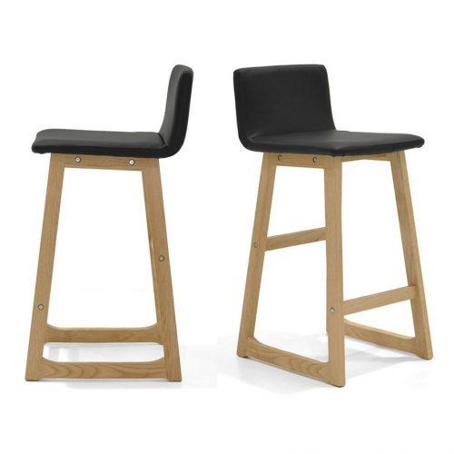 Mandy Bar Stool Solid Timber Hardwood Upholstered Seat with Back Modern Scandinavian Design 1024x1024 500x500 - Mandy Bar Stool - Black