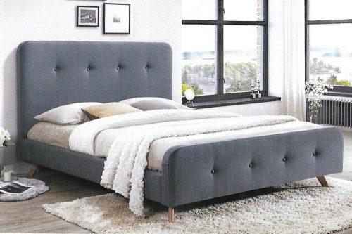 bondi 500x333 - Bondi Mid Grey Upholstered Bed - Queen