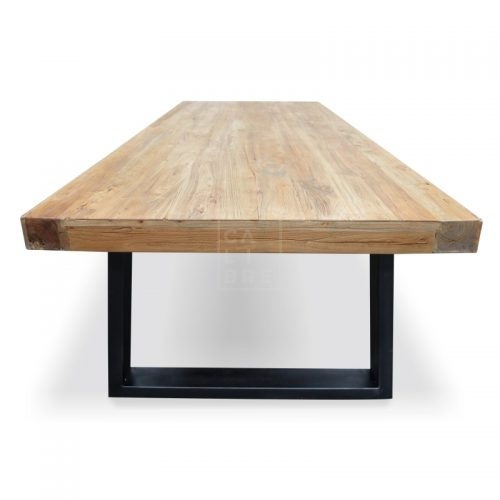 dsc 6352 1 500x500 - Cameron Reclaimed Elm Wood 3000 Dining Table