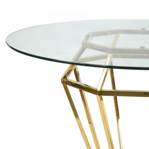 dt1033 bs karma golden frame dining table 3  500x500 - Ariana Marble Base 1400 Dining Table