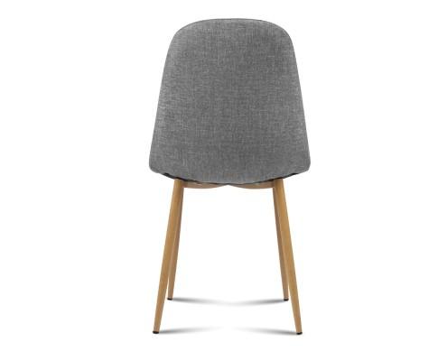 lyss11 - Ilyssa Fabric Dining Chair - Light Grey
