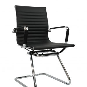 Aero Visitor 1 300x300 - Aero Cantilever Visitor Chair - Leather