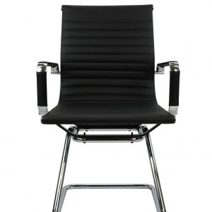 Aero Visitor 2 300x300 - Aero Cantilever Visitor Chair - Leather