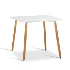 BA BB TAB80 SQUA WH 00 300x300 - Eames 800 Square Dining Table - White