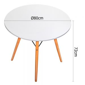 ba bb dsw table80 wh 01 3 300x300 - Eames 800 Round Dining Table - White