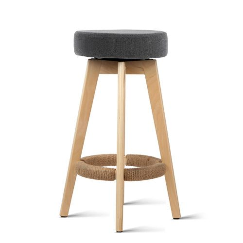 Alex 3 1 500x500 - Alex Bar Stool - Grey