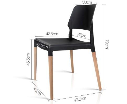 BA TW M2503 086 BKX4 01 - Cafe Belloch Chair - Black