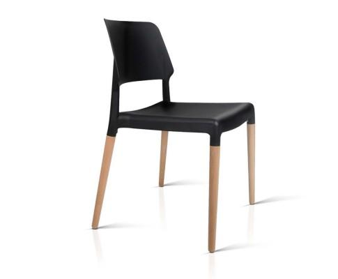 BA TW M2503 086 BKX4 03 - Cafe Belloch Chair - Black