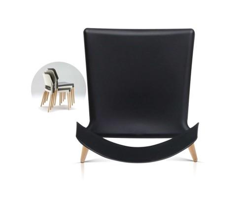 BA TW M2503 086 BKX4 05 - Cafe Belloch Chair - Black