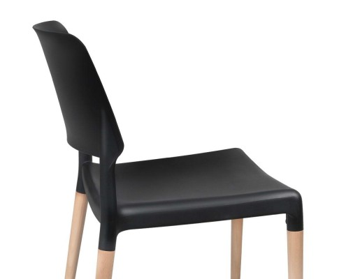 BA TW M2503 086 BKX4 08 - Cafe Belloch Chair - Black