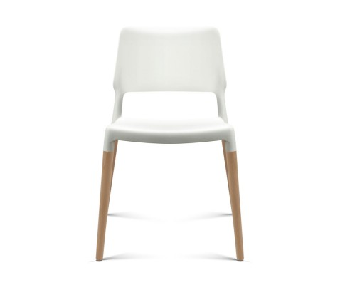 BA TW M2503 086 WHX4 02 - Cafe Belloch Chair - White