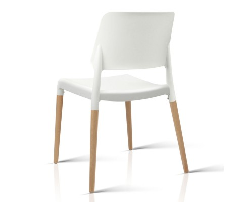 BA TW M2503 086 WHX4 03 - Cafe Belloch Chair - White