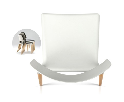 BA TW M2503 086 WHX4 04 - Cafe Belloch Chair - White