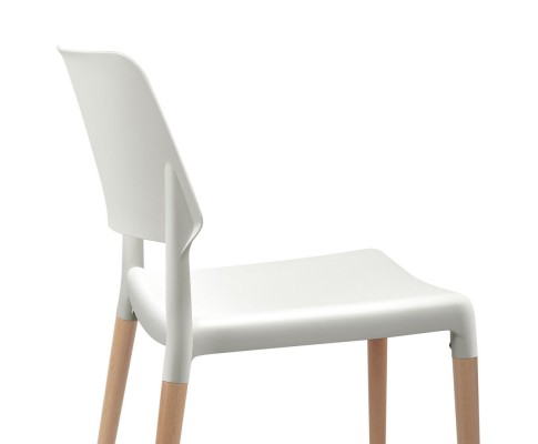 BA TW M2503 086 WHX4 05 - Cafe Belloch Chair - White