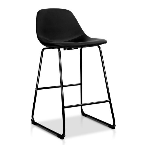 Corby 2 1 500x500 - Corby Bar Stool - Black