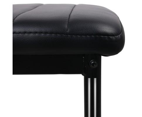 DINING B C02 BK 05 - Charge Dining Chair - PVC Black