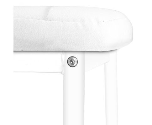 DINING B C02 WH 05 - Charge Dining Chair - PVC White