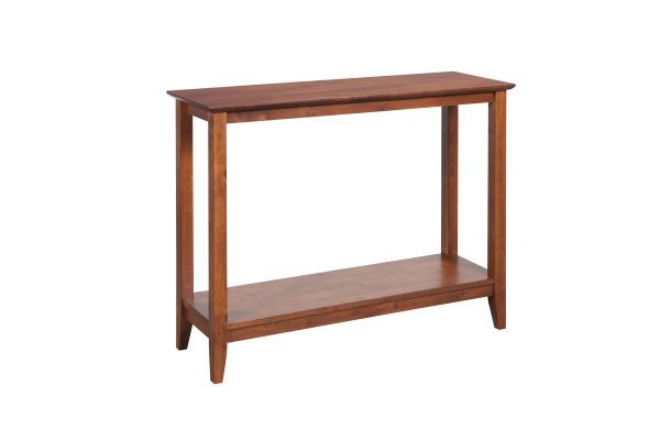 Quadrant Console Table AM 600x400 - Quadrat Console Table Antique Maple