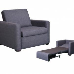 ellie 300x300 - Ellie Single Sofa Bed - Charcoal