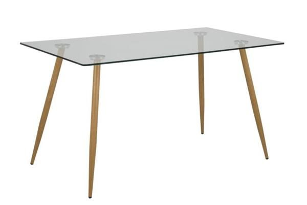 vwe 001 600x400 - Wesley 1400 Glass Dining Table