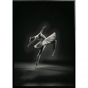 bella 300x300 - Bella Ballerina - Black & White Canvas