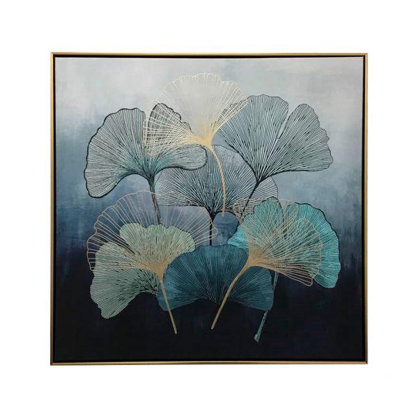 petals 600x600 - Petals Framed Canvas