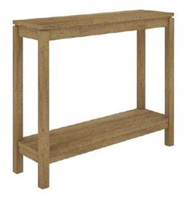 D 96X28X80CM NATURAL VCT 032 N - Cubist Console Table - Natural